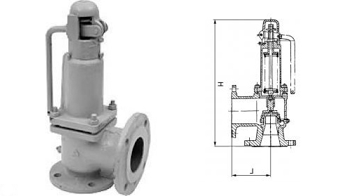 17с28нж - Клапан предохранительный пружинный