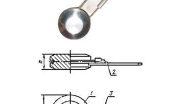 Линзы стальные ГОСТ 22791-83 глухие с указателем