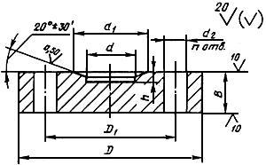 Заглушка ГОСТ 22815-83 фланцевая