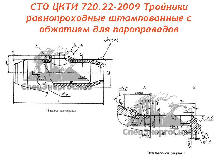 СТО ЦКТИ 720.22-2009