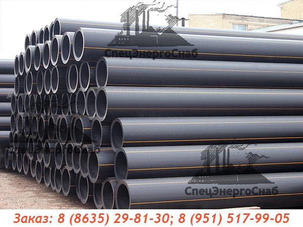Труба ПЭ газопроводная ГОСТ 50838-2009